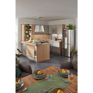 Einbauküche Touch In Steingrau Nb