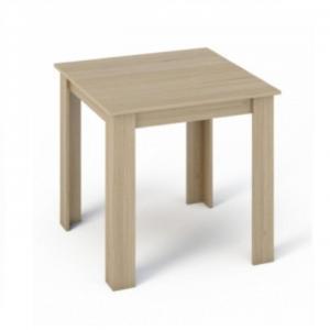 Jedálenský stôl 80x80 KRAZ dub sonoma Tempo Kondela
