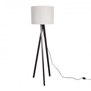 Stojaca lampa LILA Typ 9 biela / čierna Tempo Kondela