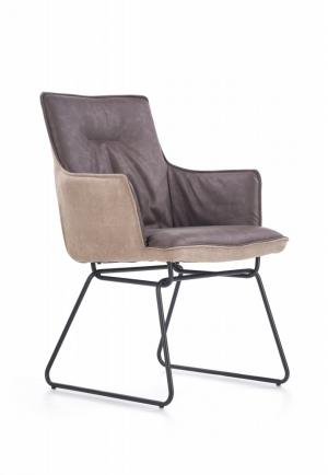 Jedálenská stolička K271 sivá Halmar