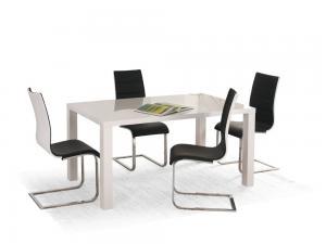 Jedálenský stôl rozkladací 140/180 RONALD biely Halmar