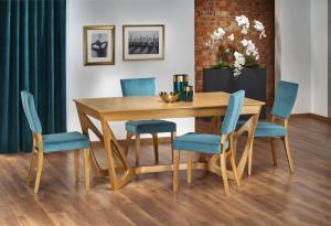 Jedálenský stôl WENANTY rozkladací 160/240 Halmar Dub medový