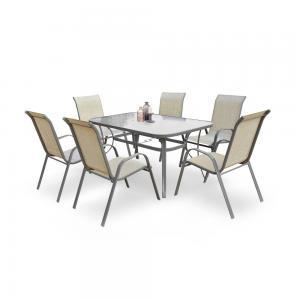 Záhradný stôl MOSLER sivá