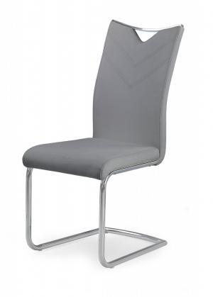 Jedálenská stolička K224 Halmar Sivá