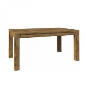TEMPO KONDELA Jedálenský stôl ST 160, dub lefkas, NEVADA ST