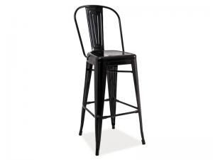 Byvajsnami SK, LIFT barová stolička, čierna