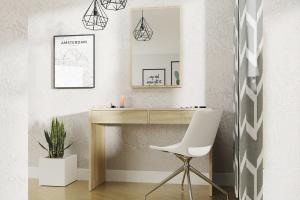 ASTRID toaletný stolík, dub sonoma