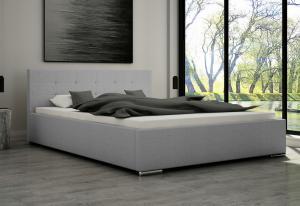 Čalouněná postel OLIVER, 160x200, dubaj 06