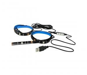 Polux Sada 2x LED RGB Pásik LED