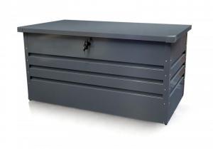 Záhradný úložný box 600l kovový Dekorhome
