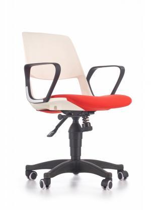 Detská pracovná stolička JUMBO Halmar Červená