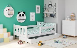 Detská posteľ so zásuvkou MARINELLA 160x80 cm Halmar Biela
