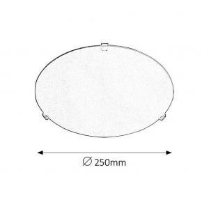 Stropná Lampa Simple Ø 25cm, 60 Watt #1 small