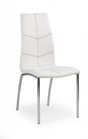 Jedálenská stolička K114 Halmar Biela