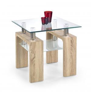 Konferenčný stolík DIANA H 60x60 cm Halmar Dub sonoma