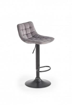 Barová stolička H-95 Halmar Sivá