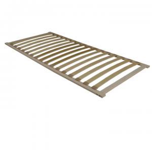 TEMPO KONDELA Flex 3-zónový lamelový rošt 90x200 cm brezové drevo