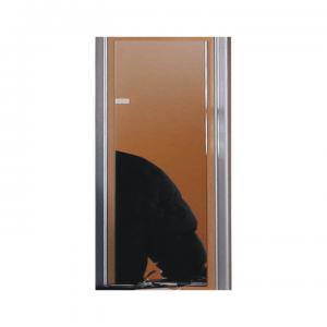 TEMPO KONDELA Lissi 5 zrkadlo na stenu buk / strieborná