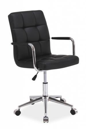 SIGNAL Q-022 kancelárska stolička čierna