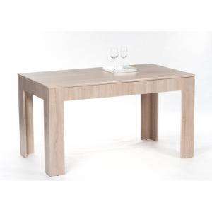 TEMPO KONDELA Admiral rozkladací jedálenský stôl dub sonoma