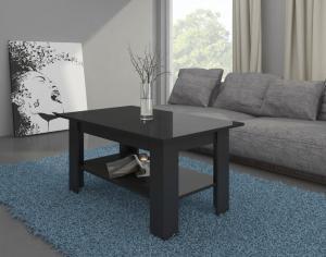 MEBLOCROSS Elaiza konferenčný stolík čierna