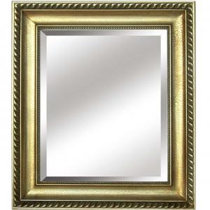TEMPO KONDELA Malkia Typ 10 zrkadlo na stenu zlatá