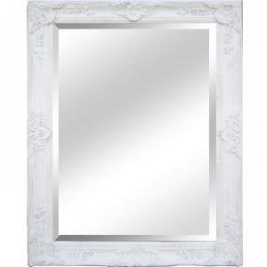 TEMPO KONDELA Malkia Typ 9 zrkadlo na stenu biela