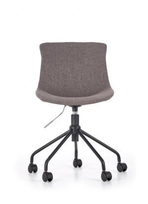 HALMAR Doblo detská stolička na kolieskach sivá