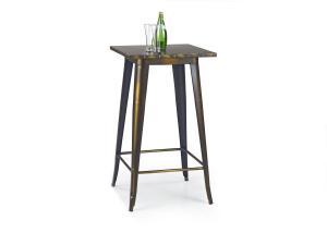 HALMAR SB-8 barový stôl žltá meď