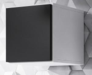 CAMA MEBLE Roco RO5 skrinka na stenu biela / čierna
