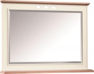 TARANKO Florencja FL-L3 zrkadlo na stenu vanilka / dub Florencja