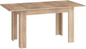 MEBLOCROSS Stol Kuchenny Rozkladany rozkladací jedálenský stôl sonoma svetlá