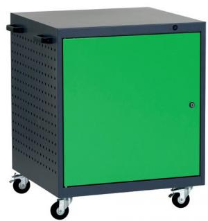 NABBI L1 mobilný kontajner k pracovnému stolu na kolieskach grafit / zelená