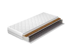 NABBI Oreno 200 obojstranný pružinový matrac pružiny / plsť / kokosová doska / PUR pena / látka