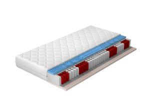 NABBI Pemo 200 obojstranný taštičkový matrac latex / pružiny / plsť / pamäťová pena / látka