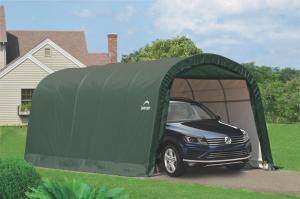 Náhradná plachta pre garáž 3,7 x 6,1 m zelená Dekorhome