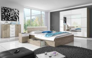 ArtElb Spálňa DELTA / BETA | san remo Beta: Spálňova zostava BETA / posteľ 160 x 200