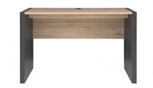 BRW Kancelársky stôl Executive BIU/120 Farba: sivý wolfram/dub san remo svetlý