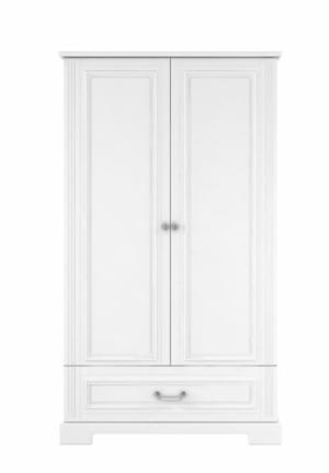 ArtBel Šatníková skriňa Ines 2-dverová Farba: Biela
