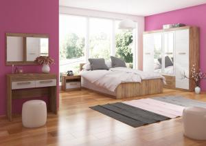 Spálňa Maximus WIP 13 Farba: Craft zlatý /  craft biely