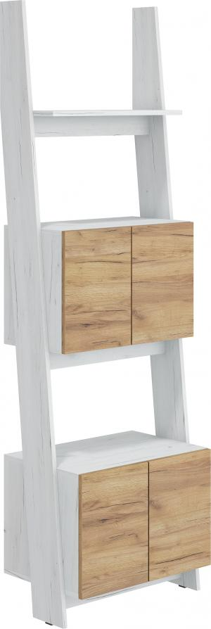 WIP Regál 60-2D Rack 05 Farba: Craft biely / craft zlatý