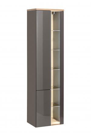 ArtCom Kúpeľňová zostava BAHAMA / grafit Bahama: vysoká skrinka 800 | 170 x 45 x 33 cm