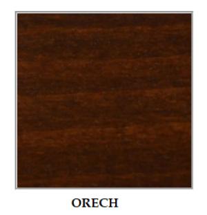 ArtElb Jedálenský set WENUS 8 / BOSS 7 (1+8) Farba: Orech