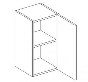 W60/58 horná skrinka 1-dverová MOREEN, picard