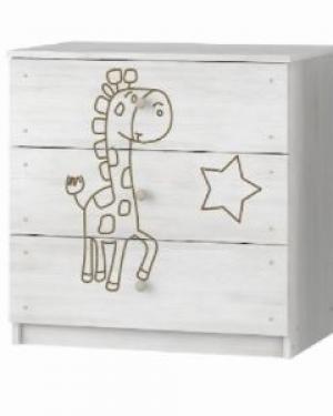 ArtBoo Komoda so žirafkou BOO: Bezfarebný