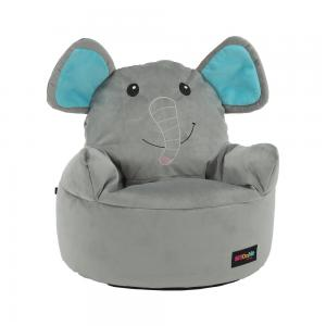 TEMPO KONDELA Baby Typ 2 sedací vak sivá