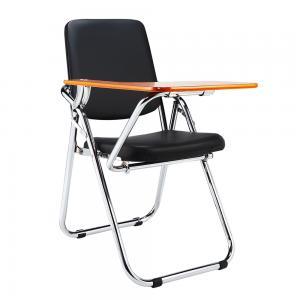 TEMPO KONDELA Soner konferenčná stolička s doskou na písanie čierna / prírodná
