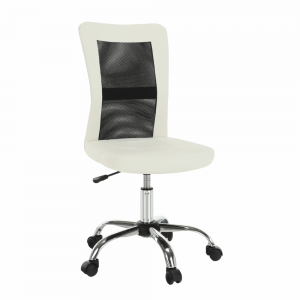 Kancelárska stolička IDOR NEW Tempo Kondela Čierna / biela