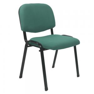 Kancelárska stolička, zelená, ISO 2 NEW