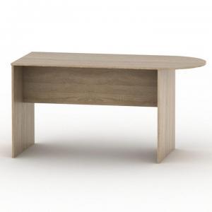 Kancelársky stôl s oblúkom TEMPO AS NEW 022 Tempo Kondela Dub sonoma